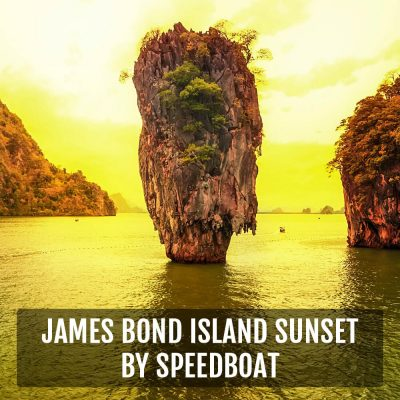 James Bond Island Sunset Day Tour Canoeing By SpeedBoat