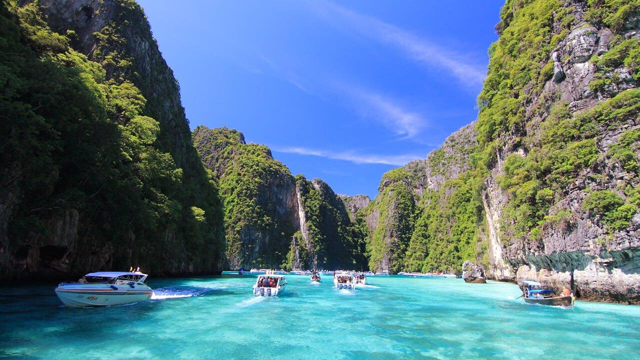 Pileh Lagoon - Phi Phi Ley - Phi Phi Islands