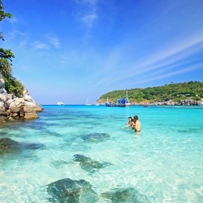 Racha and Coral Islands Day Tour Snorkeling by Speedboat
