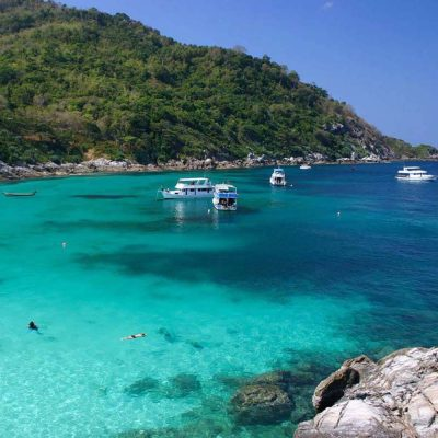 Raya Islands Private Speedboat Charter From Phuket