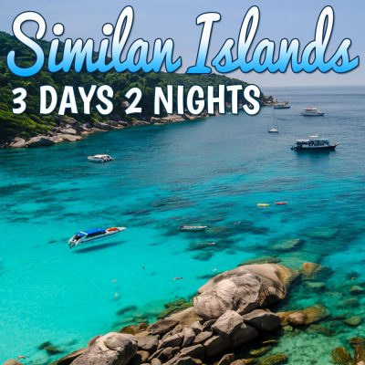 Similan Islands 3 Days 2 Night Overnight Tour Package