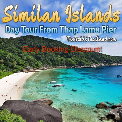 Similan Islands Day Tour From Phuket - Thap Lamu Pier