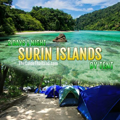 Surin Islands 2 Days 1 Night Overnight Package By Tent