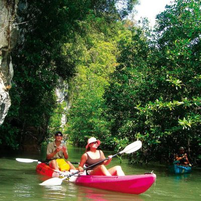Kayaking at Bor Thor Village Full Day Tour