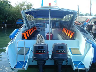 Krabi Private Speedboat Charter - Twin Engines