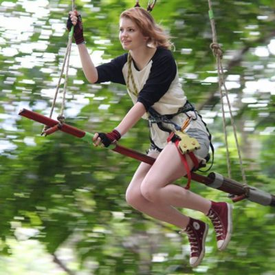Krabi Tree Top Adventure Park With Transfer and Lunch