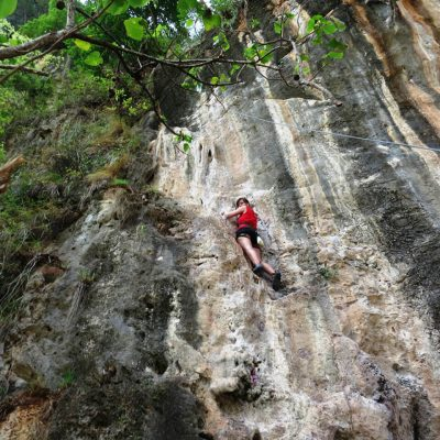 Rock Climbing in Railay Beach Krabi
