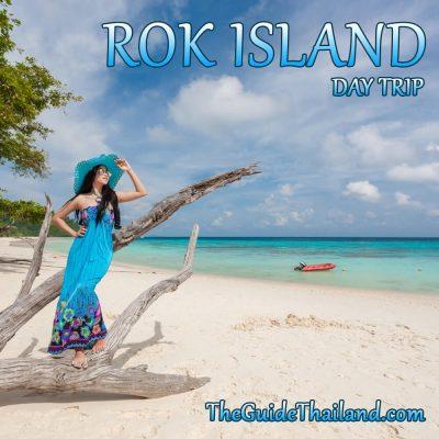 Rok Islands Day Trip by Speed Catamaran From Phuket