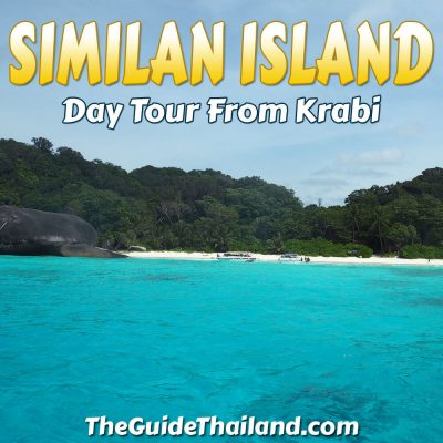 Similan Islands Day Tour by Speedboat from Krabi
