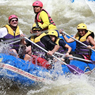 White Water Rafting Phang Nga from Phuket Package A
