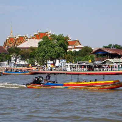 Canal Tour and Wat Arun Bangkok Half Day Tour