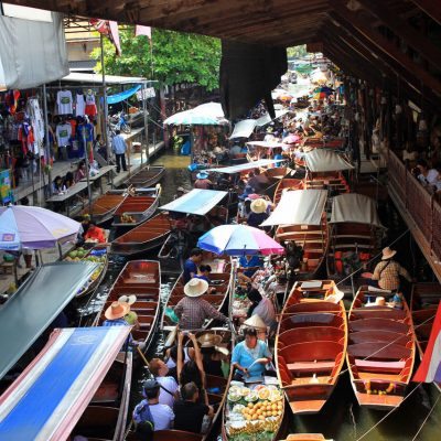 Damnoen Saduak Floating Market Bangkok Half Day Tour
