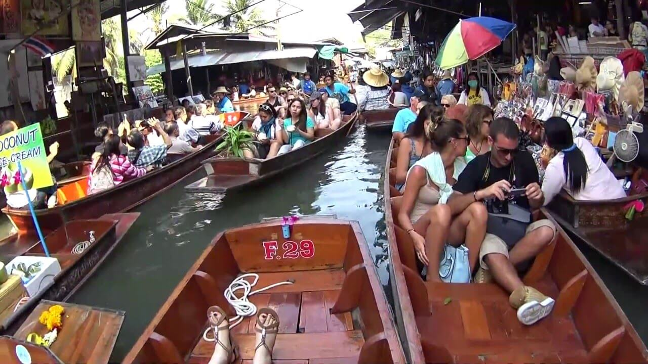 Floating Market Bangkok Tour Cheap