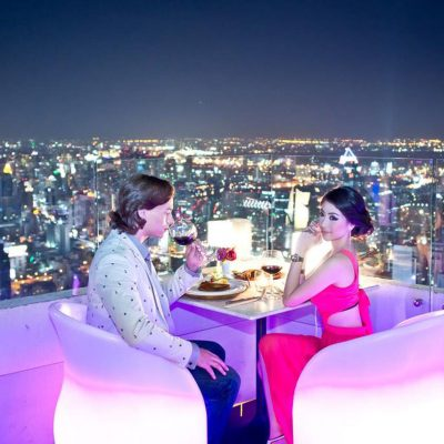 Dinner at Baiyoke Sky Restaurant Bangkok Tour
