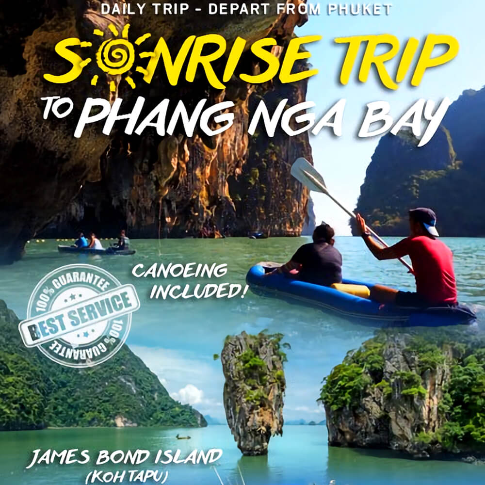 James Bond Island Sunrise Tour Premium By Speedboat