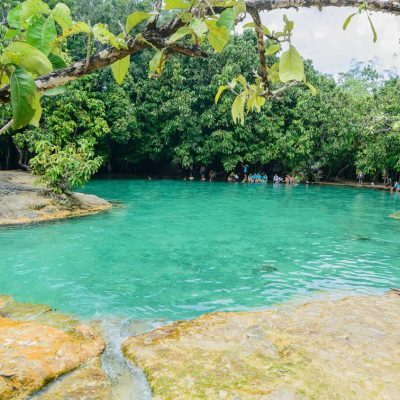 Krabi Jungle Tour (Hot Spring Waterfall + Emeral Pool + Tiger Cave)