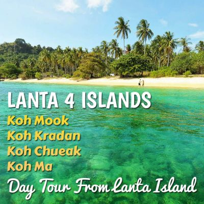 Lanta 4 Islands Tour Koh Mook, Koh Kradan, Koh Chueak, Koh Ma