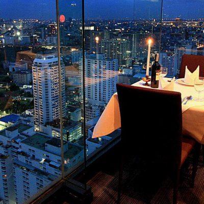 Lunch at Baiyoke Sky Restaurant Bangkok Tour