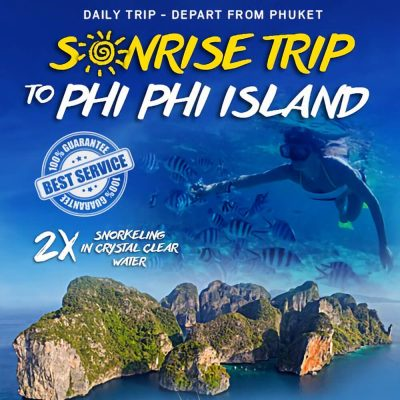 Phi Phi Islands Sunrise Tour Premium by Speedboat