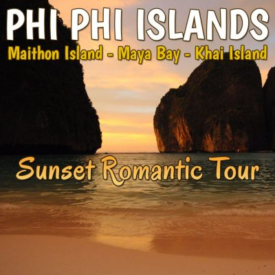 Phi Phi, Maiton, and Khai Islands Sunset Romantic Trip by Speedboat