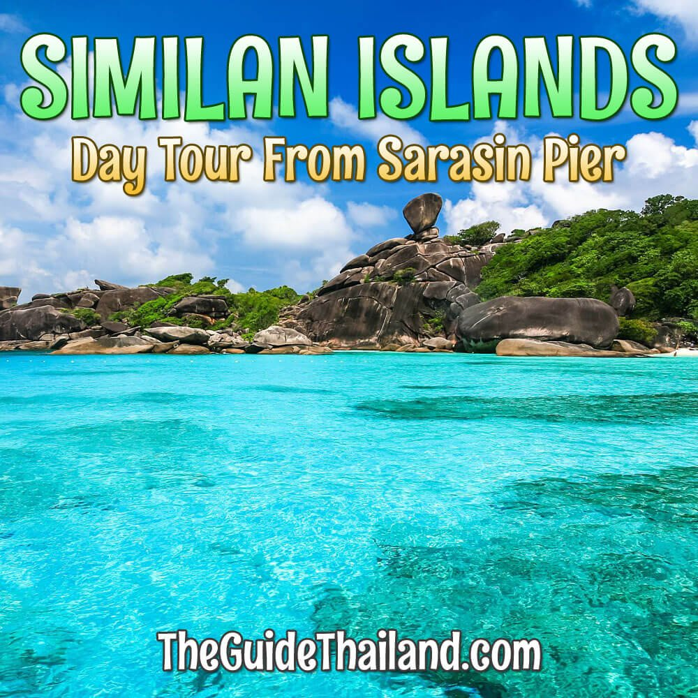 Similan Islands Day Trip by Speedboat From Sarasin Pier