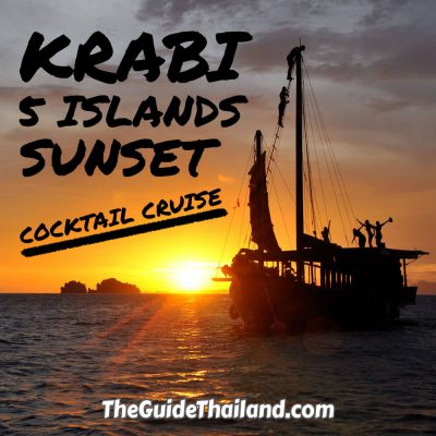 Krabi 5 Island Sunset Cocktail Cruise
