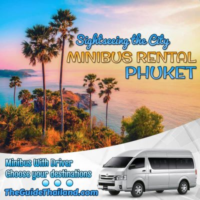 Minibus Rental in Phuket with Driver