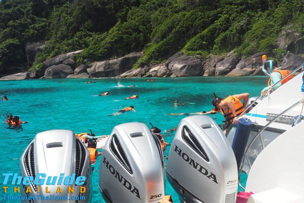 Similan Islands Snorkeling Day Tour from Phuket