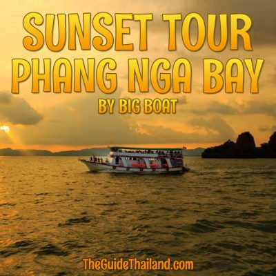 Phang Nga Bay Sunset Tour with Dinner by Big Boat