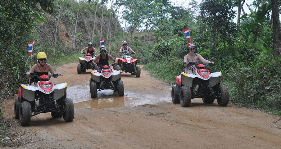 Phuket ATV Safari Extreme Adventure - Program X2
