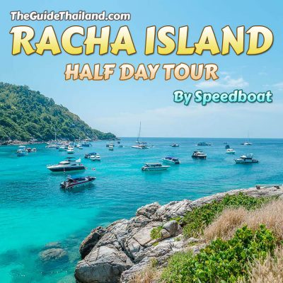 Racha Island Half Day Tour by Speedboat