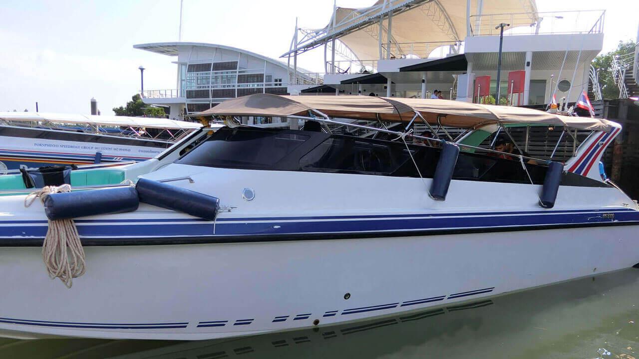 Speedboat Twin Engines 400HP (2X200HP)