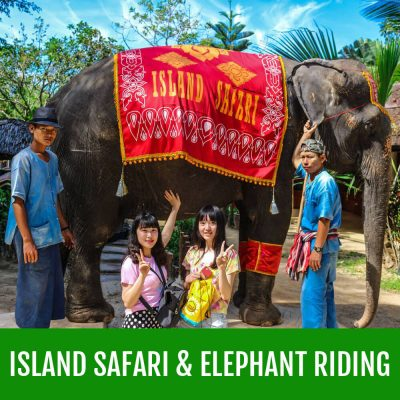 Island Safari And Elephant Riding Phuket Tour