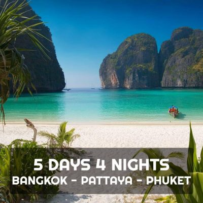 Bangkok Pattaya Phuket 5 Days 4 Nights Tour Package