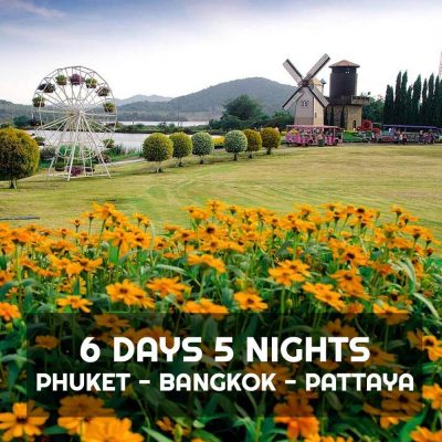 Phuket Bangkok Pattaya 6 Days 5 Nights Package with Hotel
