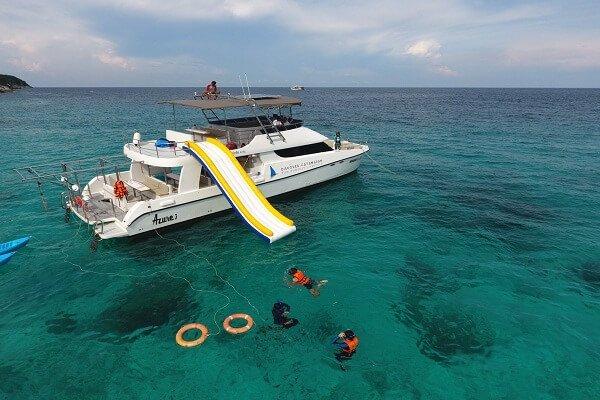 Sunset Cruise Maithon and Racha Islands by Power Catamaran