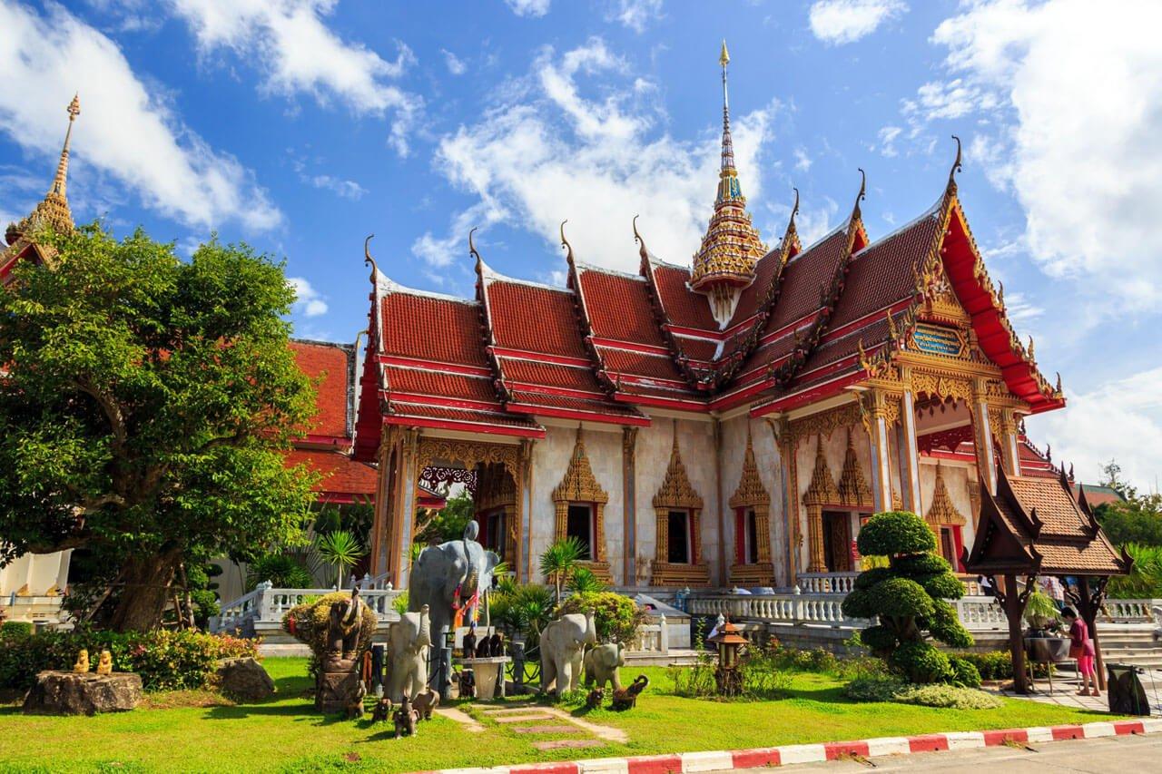 Chalong Temple Phuket