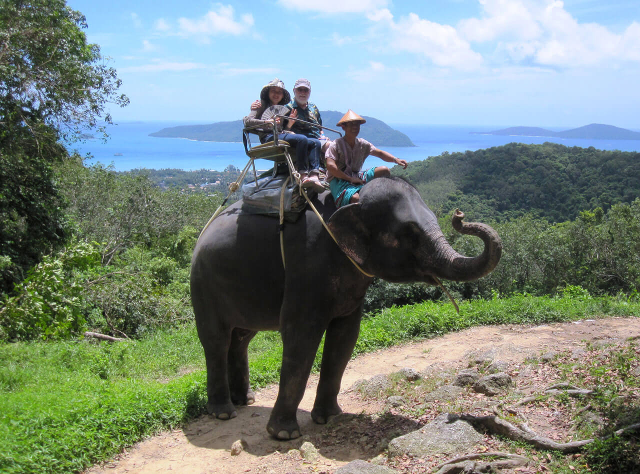 Elephant Trekking Phuket