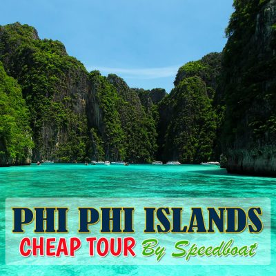 Phi Phi Islands and Khai Islands Cheap Tour By Speedboat