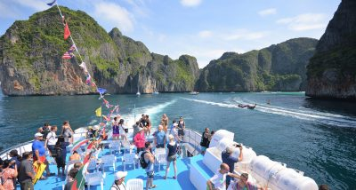 Phi Phi Islands Tour by Cruise From Phuket - Public Sundeck