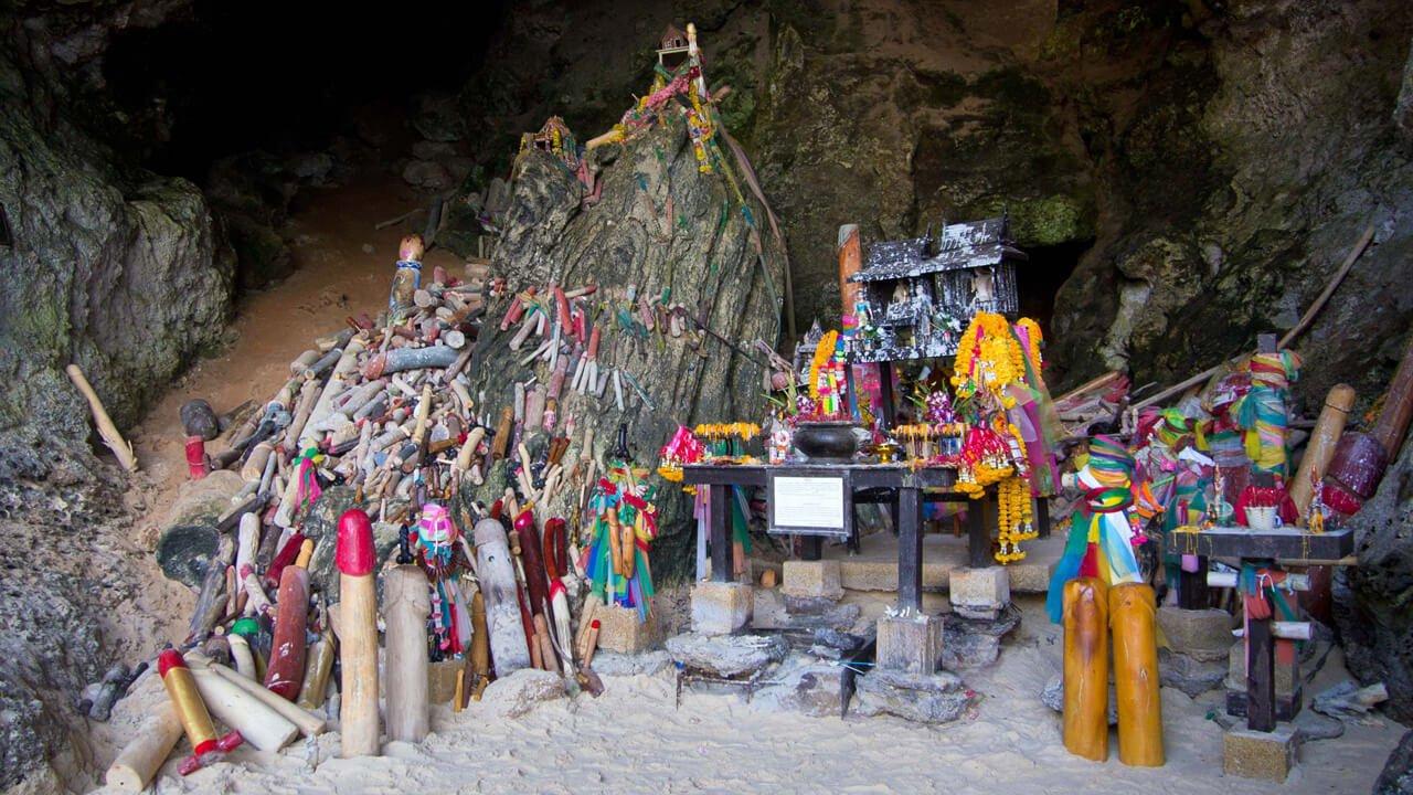 Phra Nang Cave Ao Nang Krabi