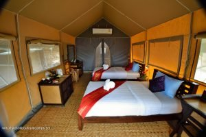 Room at Khaosok Boutique Camps