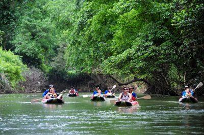 Khaosok River Canoeing