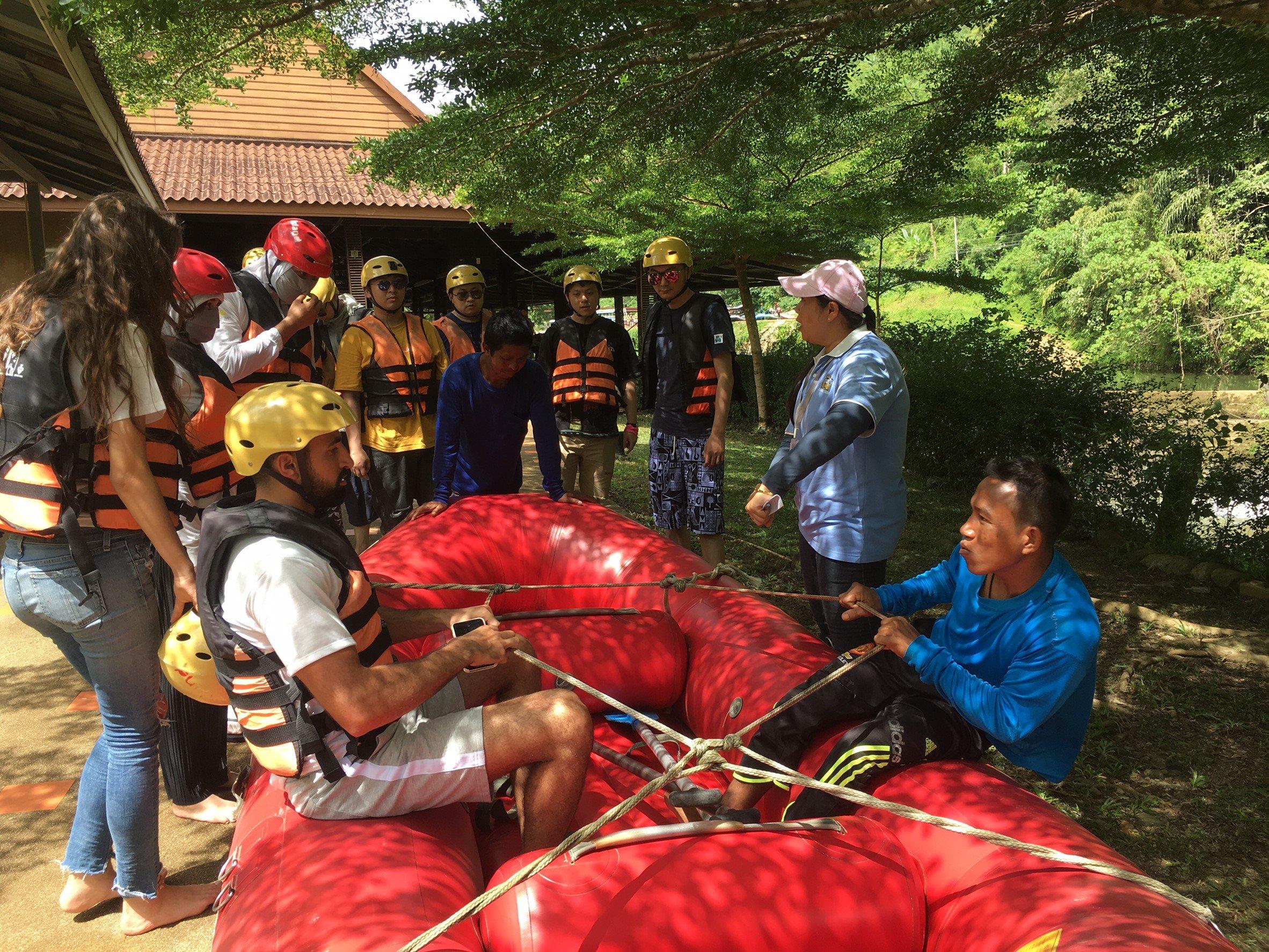 Rafting Instructor Song Preak Phang Nga