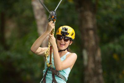 Zipline and kids zone Adventure