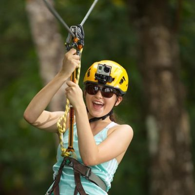 Zipline and kids zone Adventure